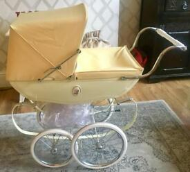 Children's Doll Silver Cross Pram