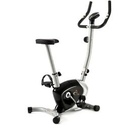 V-fit FMTC2 Folding Upright Magnetic Exercise Bike - as new condition, not used BARGAIN