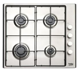 Beko Gas Hob - Stainless Steel - Brand new for sale
