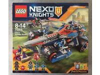 LEGO Nexo Knights Clay's Rumble Blade (70315).