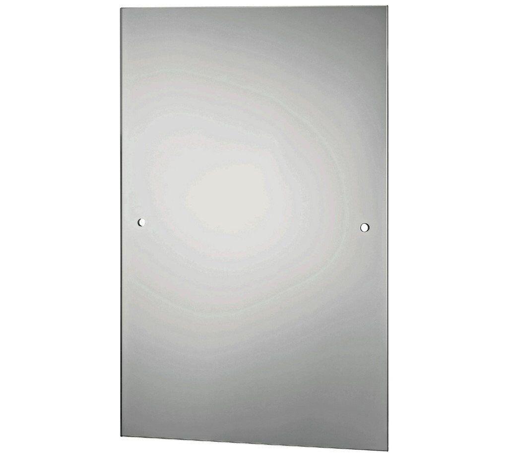 Argos HOME Rectangular Bathroom Mirror - Silver, New & Unused | in ...
