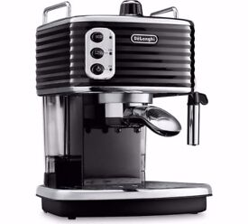BLACK De'Longhi ECZ351BLK Scultura Espresso Coffee Machine, VGC!