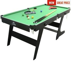 6ft folding snooker table .