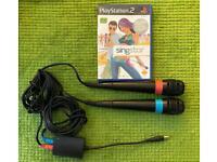 PS2 Singstar Microphones plus Games Bundle (2 Microphones plus 2 games) £15