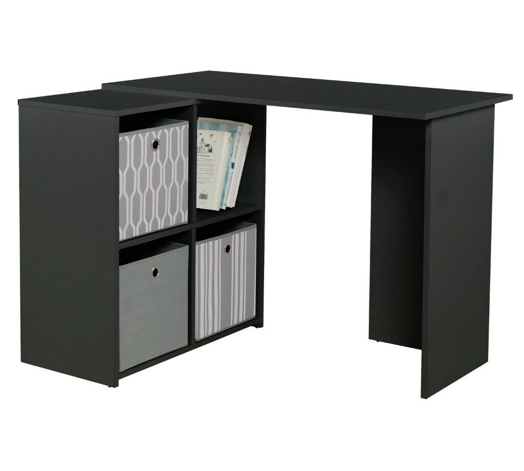 Argos Home Calgary Corner Office Desk Black In London Gumtree