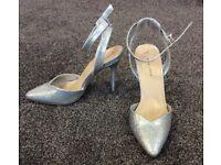 bridesmaid/prom shoes size 5 (UK)