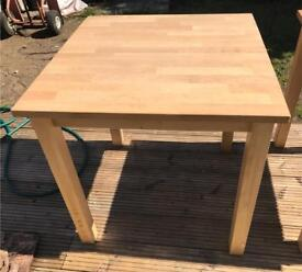 Quality Solid Ikea Maple Wood Table's Study Kitchen Dining Student Teenager Kids Child High Bed
