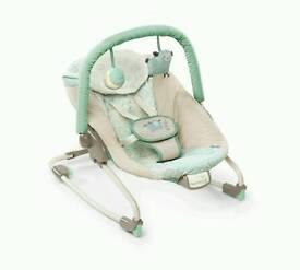 Ingenuity vibrating baby bouncer