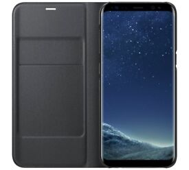 NEW Samsung Galaxy S8 LED Cover - Black bought for £50