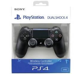 BRAND NEW PS4 PLAYSTATION 4 CONTROLLER BLACK UK V2 ORIGINAL