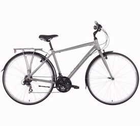Barracuda Vela 700C 17 Inch Hybrid Bike - Mens