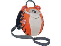 Toddler Strap Reins Backpack Kids Baby Walker Safety Harness Trespass Rein Tiger