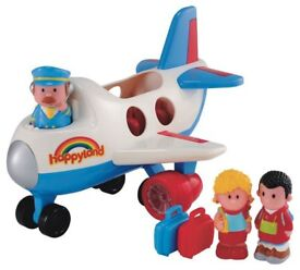 ELC Happyland Fly and Go Jumbo Jet