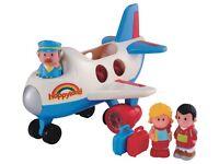 ELC Happyland Fly and Go Jumbo Jet