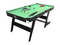 5 ft folding pool table