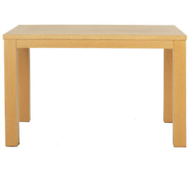 HOME Pemberton Oak Veneer 6 Seater Dining Table