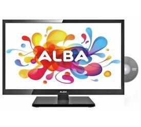 19 inch alba HD tv/dvd player