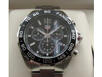 Tag Heuer F1 Formula One Fangio Limited Edition Chronograph Watch CAZ101H **Buy Online**