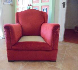 Edwardian Small Ladies Armchair - Restoration project