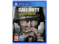 Call of duty WW2 WWII - brand new and unused - PS4 - PlayStation 4