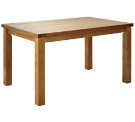 Solid pine dining table H78, L140, W90cm NEW