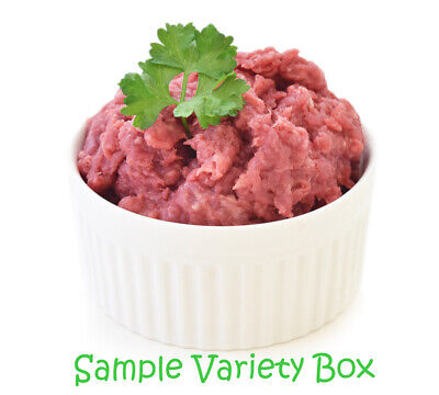 Raw Dog Food Variety Pack Box 12kg - 454g Individual Portions - Frozen