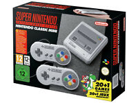 Brand New Nintendo Mini Snes. Could add extra games if needed.