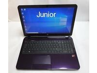 HP QuadCore, 1TB, 8GB Ram Slim HD Laptop, Windows 10, Microsoft office, HDMI, Excellent Condition
