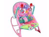 BRAND NEW Fisher-Price Infant to Toddler Rocker Bunnies
