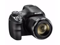 Sony DSCH400 20MP 63x Zoom Bridge Camera - Black