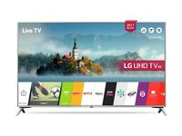 LG 49UJ635V 49 Inch Smart LED TV 4K Ultra HD Freeview HD and Freesat HD 3 HDMI