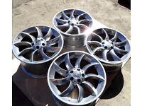 19'' Genuine alloys 5x112 SLR Mercedes-Benz SLR- Turbine alloys