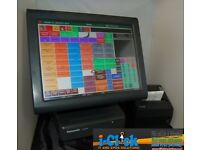 Panasonic JS-925WS POS Lite-ray EPOS Touch Screen Fanless Epos System 4 Retail Hospitality ICR
