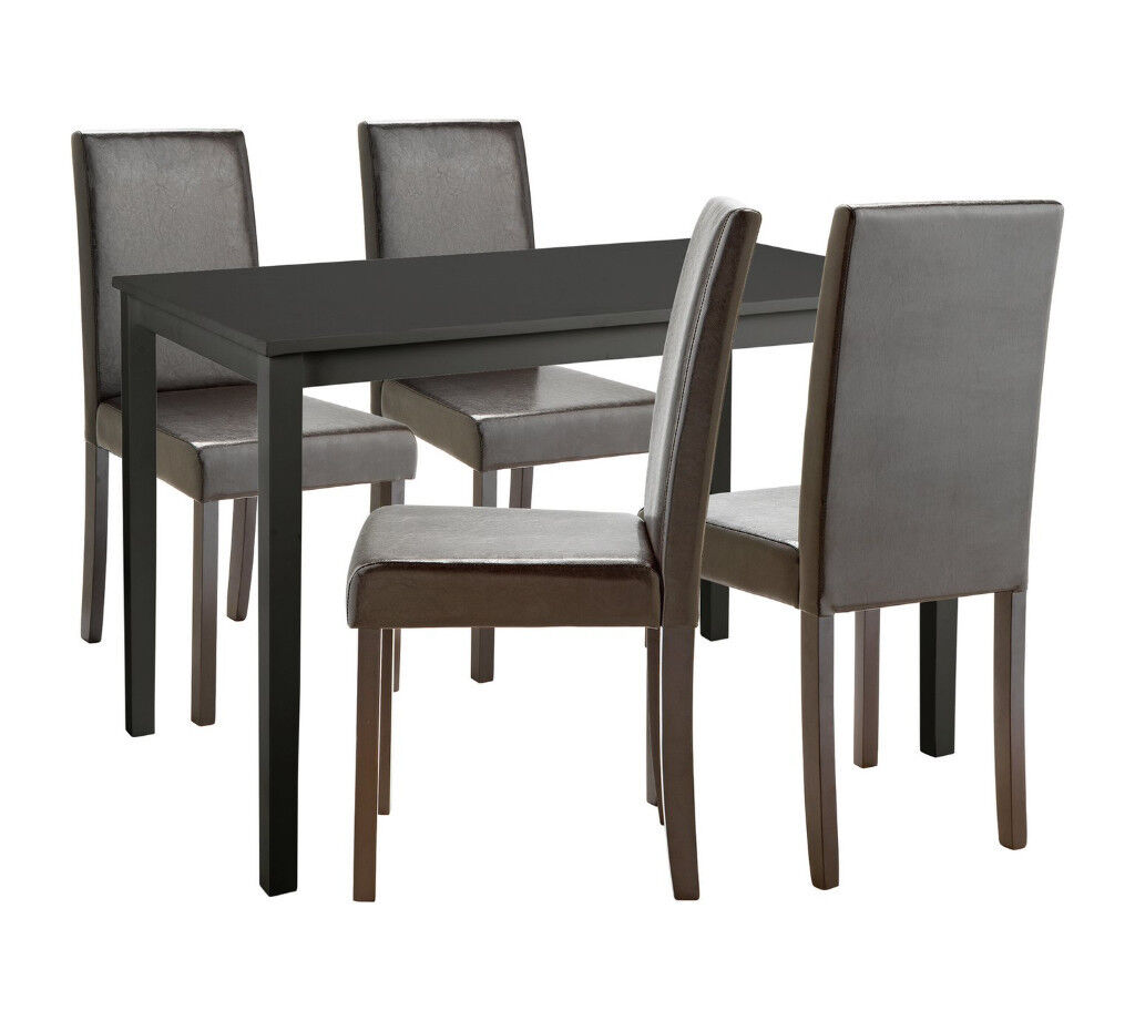 Alcott Dining Table 4 Chairs