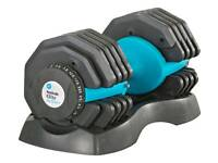 25kg Adjustable Dumbbells x 2