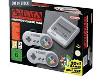 Nintendo SNES Classic Mini Console Super Entertainment System Gaming - Brand New