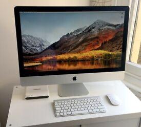 """Apple iMac 27"""" (late 2010) - Intel i7 Quad Core - 32Gb RAM - SSD + 1TB HD"""