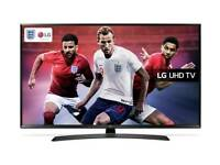 LG 43 Inch Smart 4K Ultra HD TV with HDR, LIKE NEW!!, DELIVERY