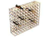 2 x 90 bottle wine racks