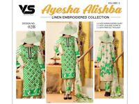Asian embroidered winter linen dresses