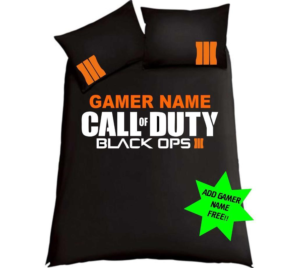 Call Of Duty Black Ops 3 Double Bedding .....FREE GAMERTAG