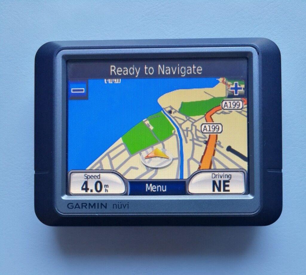 GARMIN nüvi® 250 GPS Sat Nav - Latest UK & South-West Europe Map & Speed  Cameras | in Musselburgh, East Lothian | Gumtree