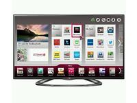 LG 47 inch LED FullHD SMART tv with DualCore CPU, WiFi, Apps and Freeview HD