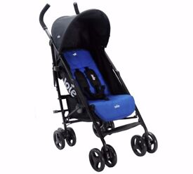 Joie Blue Nitro Stroller. Rain cover and additional sunshade included.
