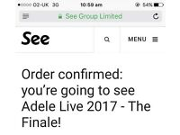 Adele Finale at wembley thursday 29th june