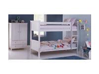 Argos Home Kingston Bunk Bed Frame - White