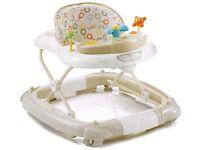 Mychild Walk'n'Rock 2-in-1 Baby Walker Neutral