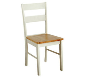 Collection Chicago Solid Wood Chairs - Two Tone