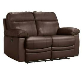 Brand new leather 2 seater recliner