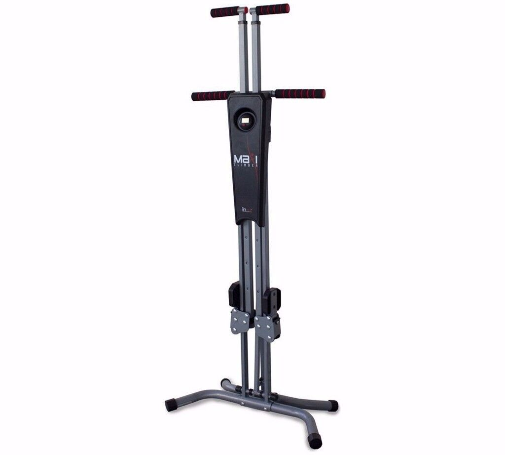 Maxi Climber Vertical Climber Home Adjustable Exercise Fitness Workout Machine